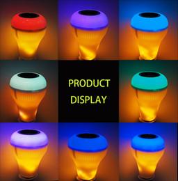 Sem fio Bluetooth Speaker Inteligente LED Light Player de Música Flame Light Universal E27 Rosca de Conexão Anti-reflexo Não-cintilação de Iluminação de Fornecedores de pequenos alto-falantes