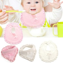 New Double-Deck Thickened Triangular Bandage Bowknot Baby Saliva Towel Sweat Separated Towel Cute Kerchief Summer Must baby bibs Coupons