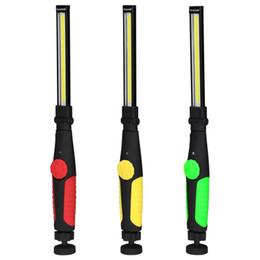 COB lampe de travail forte à main 270 fois pliable multifonction portable lampe de secours forte lampe d'extérieur magnétique domestique ? partir de fabricateur