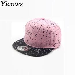 f93a96ca604 Kpop Straight Cap Boys Girls Pink Full Cap Hat Baseball Kids Summer Gorras  Planas Snapback Hip Hop Childrens YIC021