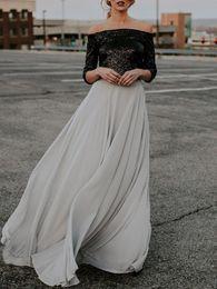faldas de punto hasta el tobillo Rebajas 2018 mujeres de cintura alta falda de gasa larga para mujer Playa Verano Maxi falda Niza diseños elegante hembra gris faldas largas
