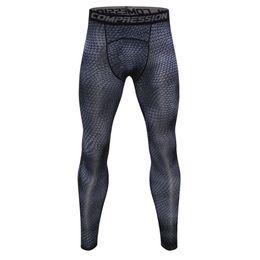 blue mens leggings Australia - 2018 New Mens Compression Tights Fitness Skinny Leggings Men's Pants Breathable Underwear Rashguard Joggers Sweatpants Trousers