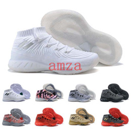Wholesale Crazy Brown - Crazy Explosive Low 2018 Boost PK Basketball Shoes Mens High Quality Andrew Wiggins Socks Sports Training Sneakers Size 7-12