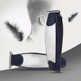 Wholesale Haircut Scissors - Kemei KM - 5021 3 In 1 Professional Hair Clipper Rechargeable Hair Trimmers Haircut Barber Scissors Styling Machine with USB Cable