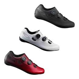 zapatillas de ciclismo nuevas Rebajas 2018 NUEVO RC7 SH RC701 Carbon Road Ciclismo Zapatos de bicicleta Blanco Rojo Negro SPD-SL