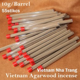 chip sticks Coupons - 55sticks natural aromatic authentic Vietnam Agarwood incense sticks agar oudh incenso Nha Trang Aloewood chips home fragrance