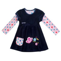 Robes de cisaillement en Ligne-2018 printemps novatx F7139 fuchsia détail bébé fille vêtements hiver robe enfants enfants fille pour belle robe de soirée cisaillement en peluche enfants