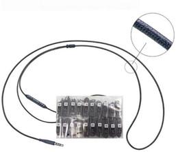 2019 microphone sans fil Bestl Qualité Pour Samsung S8 Dans L'oreille Filaire Casque 120cm Écouteurs Contrôle Du Volume pour S6 S7 Note 8 Écouteur Sans Paquet Au Détail microphone sans fil pas cher
