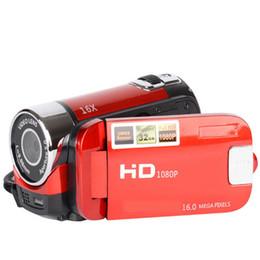 telecamere a zoom lungo Sconti 16MP Videoregistratore digitale ad alta definizione Videocamera Videocamera 1080P 2,7 pollici Schermo LCD TFT Zoom 16X Spina USA