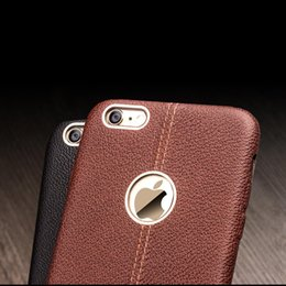 Wholesale premium leather cases - Fashion leather back case for iPhone6 plus,special handmade premium back cover for iPhone 6S plus 4.7 5.5 inch