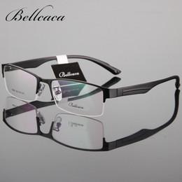 be6f2de783 Bellcaca Spectacle Frame Men Eyeglasses Computer Optical Prescription  Myopia Glasses Frame For Male Clear Lens Eyewear BC680
