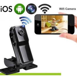 Seguridad para el hogar portátil online-Mini Wireless mini cámara de grabación de video DVR Portable 640 * 480 HD Cámara Cámaras de Seguridad para el Hogar