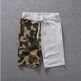 Wholesale Men Designer Wears - Designer Pants Mens Shorts Luxury Shorts for Me Sport Casual Knee Length Cotton Blend Drawstring Summer Outdoor Wear Good Quality Size M-2XL