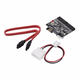 Wholesale Branded Dvd - 1Pc 2 in 1 SATA to IDE Converter   IDE to SATA Adapter Converter for DVD  CD  HDD Brand NewHot New Arrival