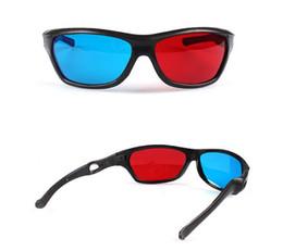 Deutschland Universal 3D Stereoscopic Glasses für Heimkino verwenden am besten Visual Effect Rot Blau 3D-Brille mit Visual Shock 100% 3D-visuellen Effekt Versorgung