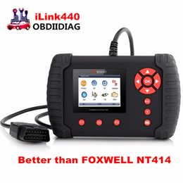 Wholesale Lexus Bag - VIDENT iLink440 4 System Auto Diagnostic Tool,Engine ABS Air Bag SRS EPB Reset Battery Configuration better than FOXWELL NT414