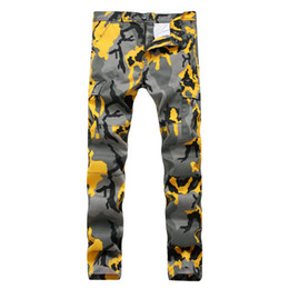 Wholesale Multiple Paintings - Lguc.H 2017 Autumn Men's Pants Trendy Camouflage Pants Man Stretch Straight Trousers Multiple Pockets Casual Work Cotton