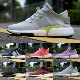 Altmodische lichter online-2018 Licht Fashion Old Dad Designer P. O.D SYSTEM POD-S3.1 Stiefel Sport Laufschuhe Herren Damen Triple Schwarz Blau Tennis Sneakers 36-45