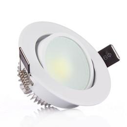 Foco de lúmen mais alto on-line-LED Downlight 85-265V 3W 5W 7W 10W 12W LED Diodo emissor de luz Luzes de teto Holofotes Lúmen alto Sem cintilação Com motorista