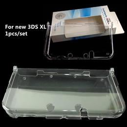 2019 concha 3ds Frete grátis Protective 1-peças Hard Crystal Case shell tampa transparente para o novo 3DS LL disponível em estoque desconto concha 3ds
