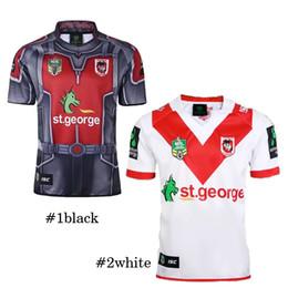 Envío de la gota nueva jersey online-2018 Nueva Zelanda Rugby New St George Illawarra Dragons NRL Camiseta de rugby Jersey de rugby Drop ship