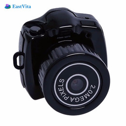 2019 hd EastVita Mini videocamera Y2000 Micro DVR Videocamera portatile Webcam Video Registratore vocale Camera 480P Micro Cam con portachiavi r30 hd economici