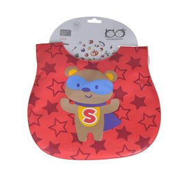 Wholesale Mother Baby Care - Mother Nest Baby & Kids Cute Cartoon Waterproof Bandana Silicone Children Baby Bibs Boys Girls Infants Burp Clothes Feeding Care