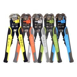 Wholesale Wire Strippers Crimper - multi tool Cable Wire Stripper Automatic Wire Crimper Crimping Tool Peeling Pliers Adjustable ferramentas Cutter herramientas