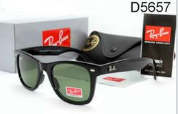 Wholesale Mirror Aviator Glasses - 2018 Hot Sale Ray Aviator Sunglasses Vintage Pilot Brand Sun Glasses Bans UV400 Men Women Ben Mirror 50mm Glass Lenses With Case
