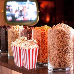 Мульти цвет бумаги попкорн коробки Рождественская вечеринка мини дети подарок конфеты шведский стол пользу Снэк лечить коробки коробки контейнеры от