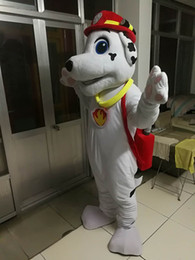 Wholesale Free Real Dogs - high quality Real Pictures Deluxe dog mascot costume Adult Size free shipping