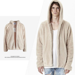 Wholesale Men Winter Camel Coat - Oversize Cashmere Hoodies For Lovers Fashion Tide Brand Pullover Hooded Sweatshirts Winter Camel Loose Hoodies Coats