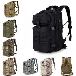 Wholesale waterproof backpack camouflage - Increase 3P Attack Tactics Backpacker Fan Outdoor Shoulder Climbing Backpack Waterproof CS Camouflage Bag Support FBA Drop Shipping G577F