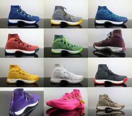 Wholesale Crazy Leather Shoes - Crazy Explosive PK High Boost Andrew Wiggins Basketball Shoes for High quality Mens Sports Training Sneakers