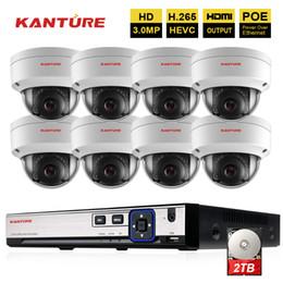Canada H.265 8CH 4MP POE CCTV système NVR 8Pcs HD 3MP IP66 VandalProof sécurité intérieure extérieure POE IP caméra IP caméra de surveillance vidéo cheap ip66 cameras Offre