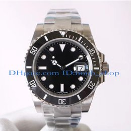 Wholesale men luxury divers watches - Noob Factory V7 Luxury Mens Automatic Eta 2836 Watches 116610LN Watches Men Ceramic Bezel Dial Luminous Dive Sport Watches Waterproof