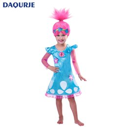 Wholesale kids wizard costume - Magic Wizard Girls Dress Christmas Net Yarn Costume For Kids Party Girls Clothes Teenagers Children Clothing 4-12 Years Vestidos