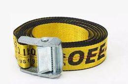 Wholesale Hottest Men Belts - 2018 Hot O-white Belt Unisex Hip Hop Fashion Style Skateboard luxury belts 200CM(can be shortened) wholesale Free shipping