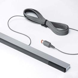 spielkartenadapter Rabatt W-I-I verdrahteter Infrarot-IR-Signal-Strahl-Sensor-Stab-Empfänger für Nintendo für Wii U WiiU-Direktübertragung