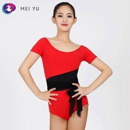 a2420efd31 MEI YU -248 Latin Modern Dance Top Waltzing Tango Cha Cha Ballroom Costume  Leotard Women Lady Dancewear Evening Party Dress Top