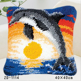 Wholesale Whale Tools - Square Pillowcase Animals Pillow Cover Throw Cushion Cover Home Sofa Car Decoration Diy Gifts For Friends Whale In The Sea