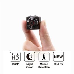 Wholesale Digital Camera Smallest - HD 1080P Sport Spy Camera Mini SQ8 DV Voice Video Recorder Infrared Night Vision 720P Digital Small Cam Hidden Camcorder With Retail Box
