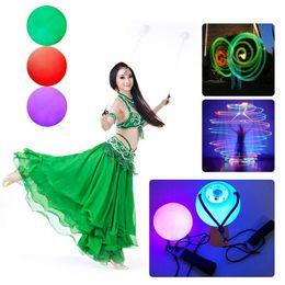 Puntine a mano a LED da donna con palline poi lanciate per accessori in vendita supplier poi balls da poi palle fornitori