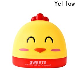 Wholesale facial tables - Cute Chick Tissue Box Facial Tissue Container Table Decoration Napkin Storage Holder Desk Organizer Office Desktop