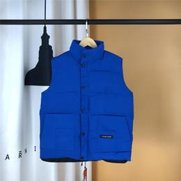 Gans Winter Männer und Frauen Daunenweste Outdoor Dicke Warme Outdoor Gans Daunenweste Windproof Warm Couple Sleeveless Coat Designer Jacket von Fabrikanten