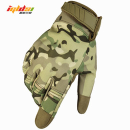 2019 нейлоновые спандексные перчатки 2018 новые боевые перчатки мужские водонепроницаемый армии Тактические перчатки камуфляж полный палец сенсорный пейнтбол