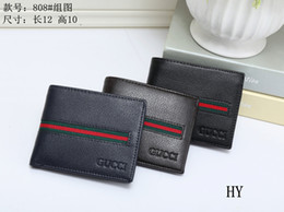 Wholesale high end purses - Luxury MB wallet Hot Leather Men Wallet Short wallets MT purse card holder wallet High-end gift box package