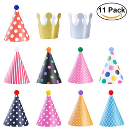 Wholesale Fun Christmas Hats - BESTOYARD Birthday Party Hat Decorations for Kids Adults Fun Party Hats