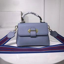 Sacs à main de designer en cuir de marque de luxe Sky Blue célèbre designer femme sacs colorblock ruban épaule messenger bag pour les femmes de haute qualité ? partir de fabricateur