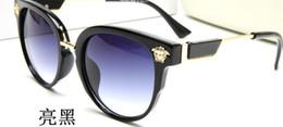 Occhiali da sole marchi famosi online-Occhiali da sole New Retro Full Frame Occhiali Famous Eyewear Brand Designer Luxury Occhiali da sole Vintage Occhiali da vista 1657